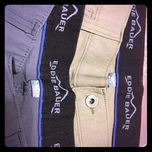 Eddie Bauer travel pants, 38/34